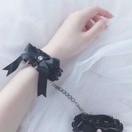 甘えんぼハンドカフス /  black 【手錠】