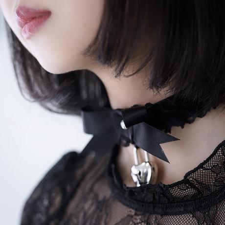 甘えんぼチョーカー /  black&black 【リードなし】