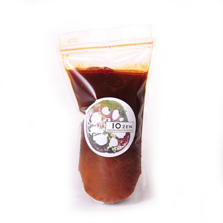 毒素排出スープ 烏骨鶏の旨辛スープ(毒辛)