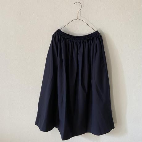 homspun ウールトロピカルギャザースカート Lサイズ