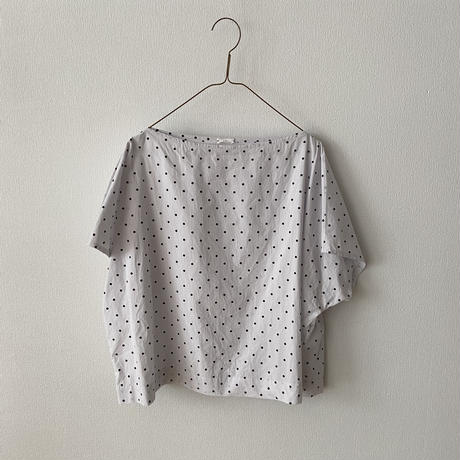 "HAU  blouse ""ebony dot"""