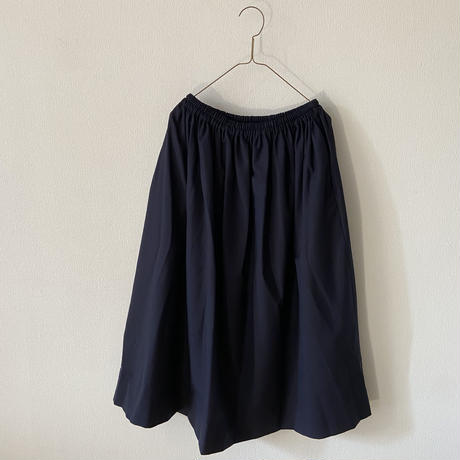 homspun ウールトロピカルギャザースカート Mサイズ
