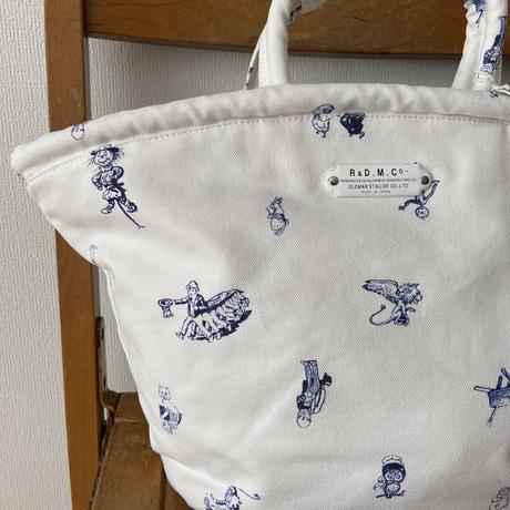 オールドマンズテーラー OZ PRINT MARCHE BAG SMALL