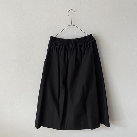 atelier naruse コットンパッチポケットスカート