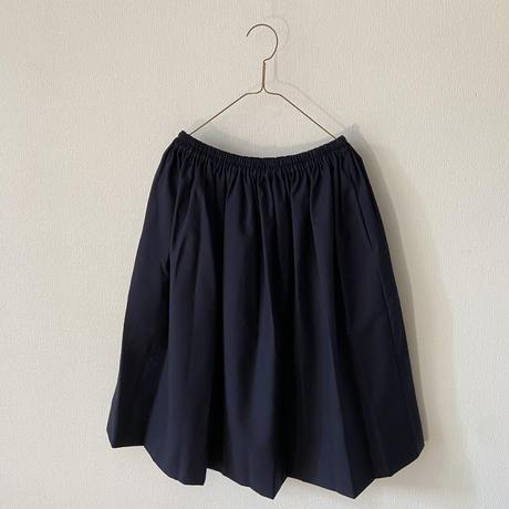 homspun ウールトロピカルギャザースカート Sサイズ