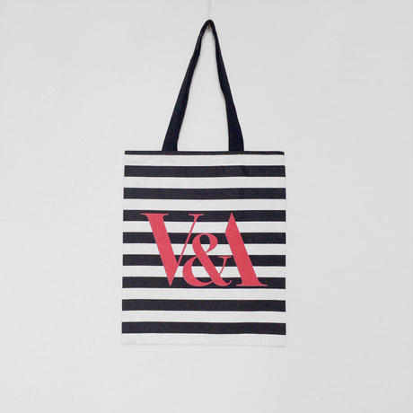 V&A  STRIPE TOTE BAG