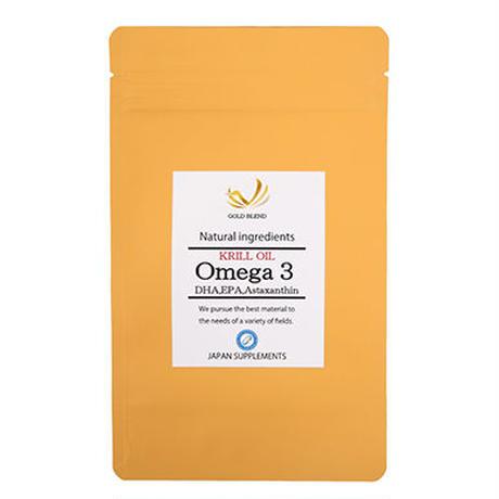 KRILL OIL Omega3 EPA DHA アスタキサンチン含有クリルオイル