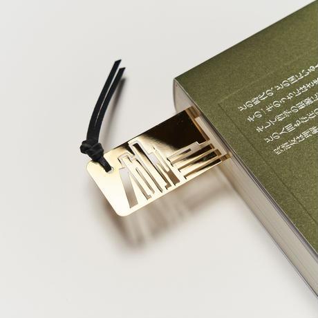 ヴィンテージ メタルブックマーク Book GD