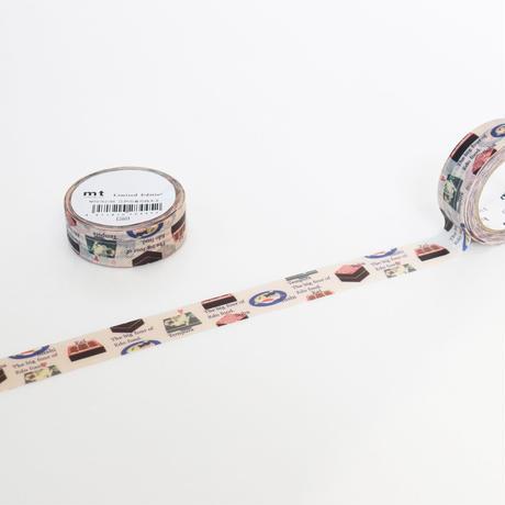 mt store at 誠品生活日本橋限定テープ 江戸の食の四天王