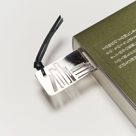 ヴィンテージ メタルブックマーク Book SV