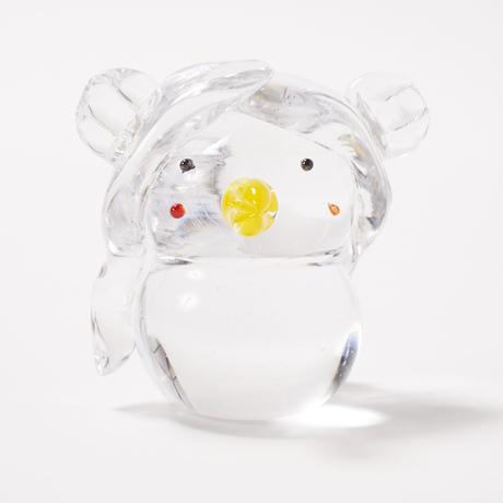 硝子のアマビエ(透明)/ 吉田 直隆