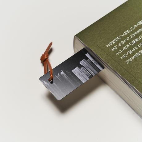 ヴィンテージ メタルブックマーク Bookcase BK