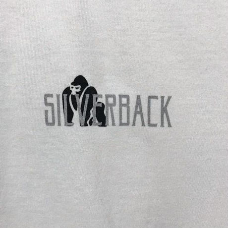 SILVER BACK tシャツ