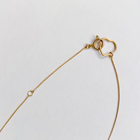 ハートEvileyeのネックレス