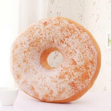 ドーナツ枕 ソファ装飾 クッションソフト ぬいぐるみ枕 甘いドーナツクッション おもちゃ