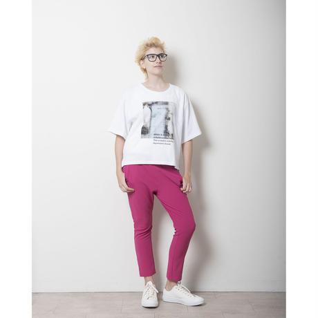 カラー美脚パンツ