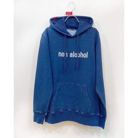 【受注販売】ユニセックスnon alcoholインディゴフーディー