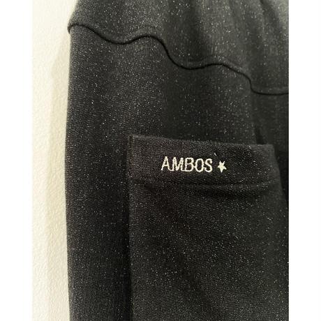 【AMBOS】ユニセックスラメパンツ