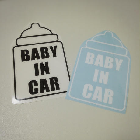 車用 BABY IN CAR ステッカー