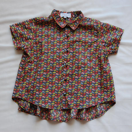 Liberty flare shirt/ Car (S 100cm)