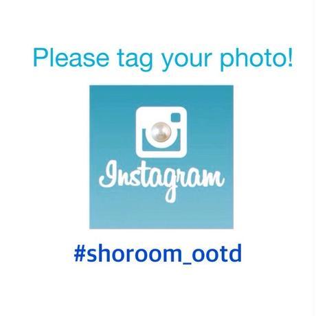 Instagramにタグ付けしてシェアしてね!#shoroom_ootd