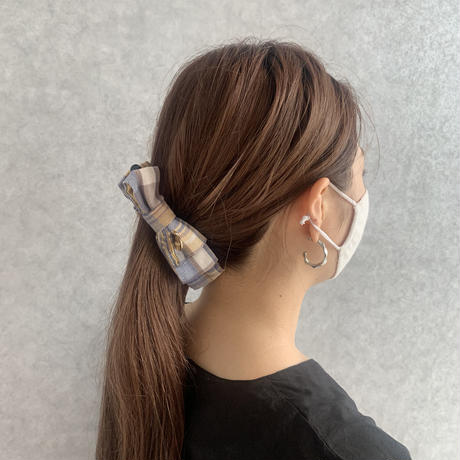TIE FORM RIBBON BANANA CLIP B/4911391201043