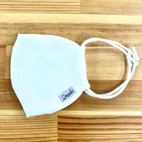 快適ニットマスク(STL036 WHITE)