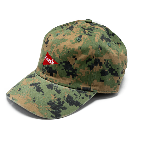 TRIANGLE FLAG LOGO 6PANEL CAP(SC023 18k06)