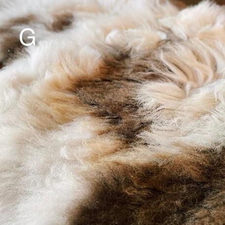 ルーマニア 羊毛ラグ(ミックス)