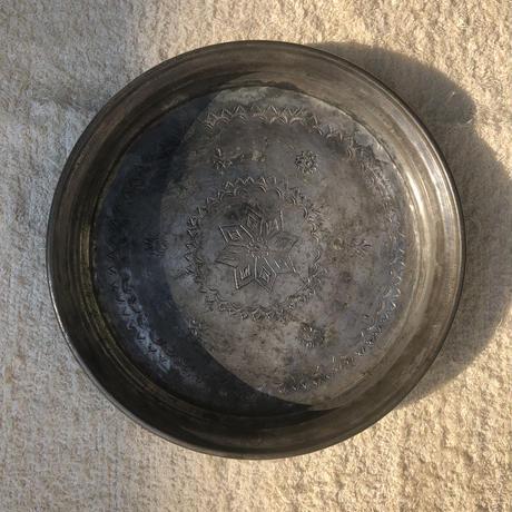 トルコ ソフレ(銅製食卓用トレイ)