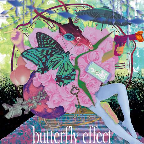single CD「butterfly effect」特典付き