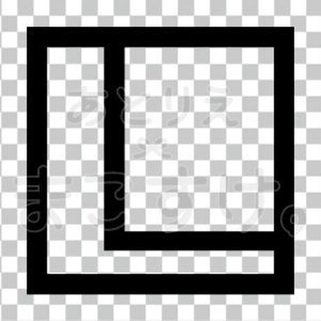 和モダン/黒/png/L