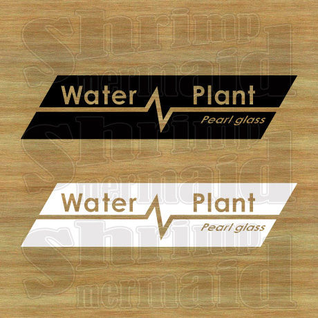 ステッカーシート / Water Plant +文字 / 文字抜き