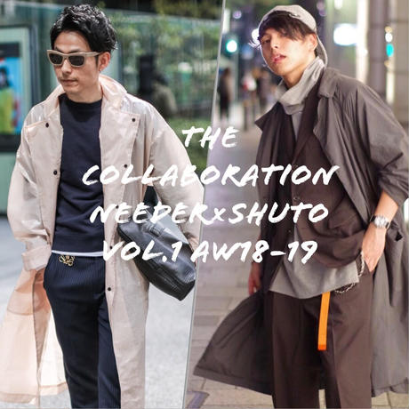 THE COLLABORATION VOL.1 needer×shuto aw18-19