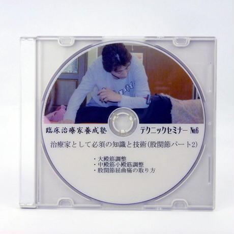 臨床治療家養成塾テクニックセミナー DVD No.6 股関節パート2