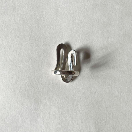 Luiny/Undulations Ring Silver