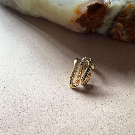 Luiny/Undulations Ring Gold