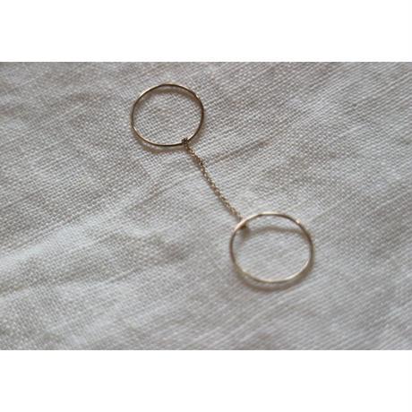 Saskia Diez/Wire Ring  DOUBLE