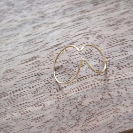 Saskia Diez/Wire  Earcuff DOUBLE/Gold