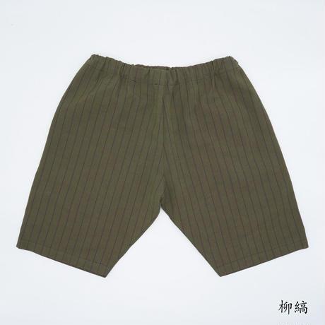 38 CMS / HP02 : ハーフパンツ 新しい縞柄