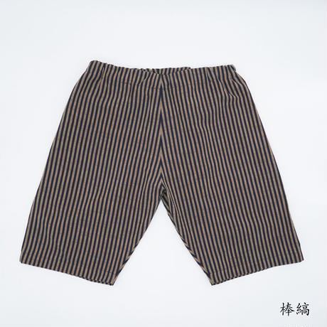 38 CMS / HP01 : ハーフパンツ 昔からある縞柄