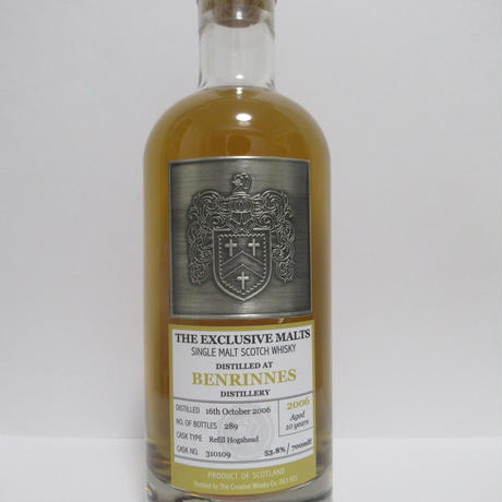 Benrinnes 2006 10 Year The Exclusive Malts