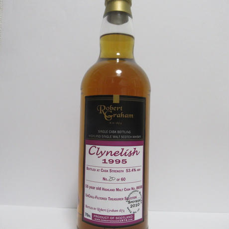 Clynelish 1995 16 Year Robert Graham Original