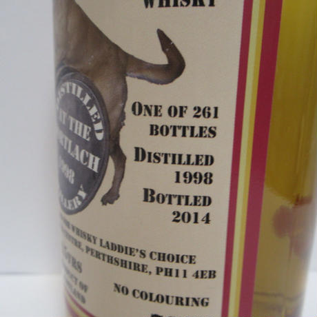 Mortlach 1998 15 Year Old Whisky Laddie's Choice