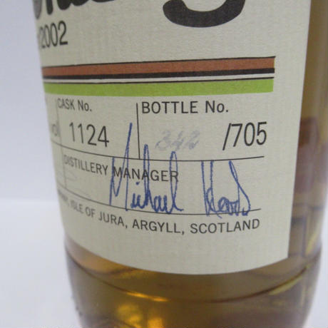 ISLE OF JURA - JURA WHISKY (2002)