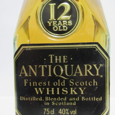 ANTIQUARY - 12 YEAR OLD (1980s) 75CL