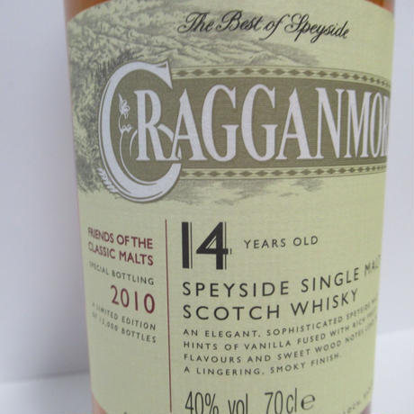 CRAGGANMORE - 14 YEAR OLD (2010)