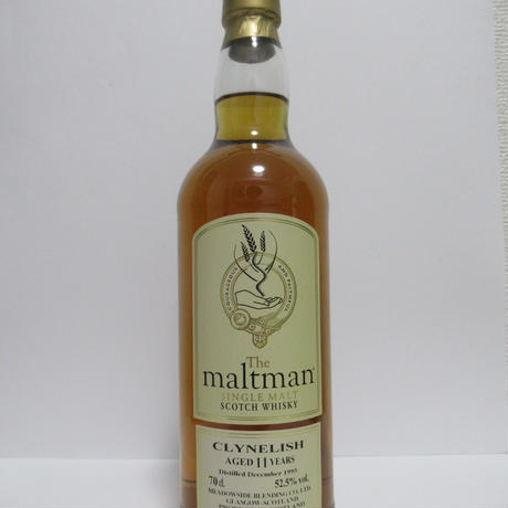 Clynelish 11 Year The Maltman