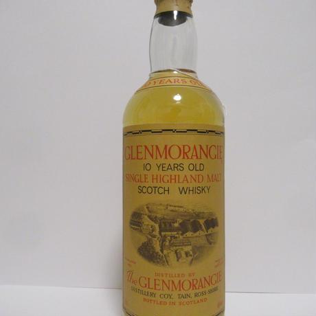 Glenmorengie 10y 1980年代流通品、缶箱入り 750ml