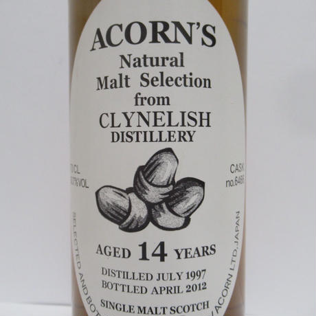 CLYNELISH 1997 14 YEAR OLD ACORN'S NATURAL MALT SELECTION